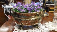 Beautiful 19th Century Pierced Brass Vase (3 of 5)
