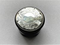 Silver & Ebony Trinket / Studs Pot (3 of 6)