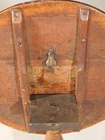 Good George III Period Mahogany Tilt Table (5 of 5)