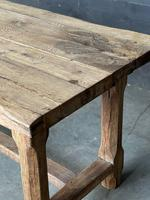 Normandy Oak Farmhouse Table & Bench Set (7 of 19)