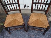 Good Pair of Country Spindle Back Chairs (4 of 6)