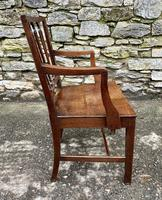 Antique Country Oak Armchair (7 of 14)