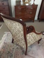 Mahogany Bedroom Armchair (5 of 6)
