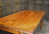 Large Extending Cherrywood Farmhouse Table (6 of 12)