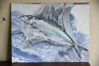 Still Life - Mackerel Oil Painting (11 of 11)