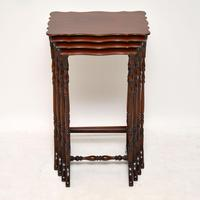 Antique Mahogany Nest of Four Tables (4 of 12)