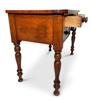 Mahogany Kneehole Writing Table (3 of 5)