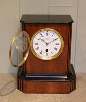 Walnut Timepiece Mantel Clock (5 of 14)