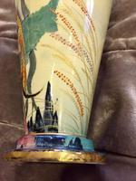 Carlton Ware River Fish Vase by Violet Elmer c.1930 (8 of 15)