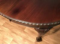 Edwardian Mahogany Extending Dining Table Two Leaves (4 of 16)