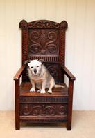 17th Century Oak Wainscot Chair (4 of 10)