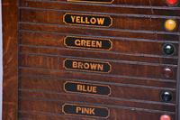 Victorian John Taylor & Sons Oak Billiard Scoreboard (3 of 5)