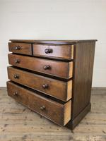 19th Century Antique Oak Chest of Drawers (11 of 12)