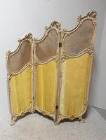 French Painted Three Fold Screen (6 of 14)