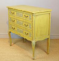 Pretty Hand Painted French Chest of Drawers (2 of 8)