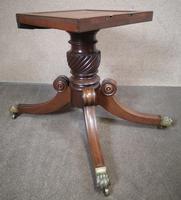 Regency Mahogany Breakfast Table / Dining Table - Seats Eight (4 of 12)