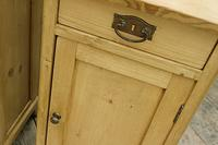Quality Pair of Old Stripped Pine Bedside Cabinets (4 of 9)