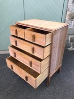 Antique Limed Oak Heals Chest of Drawers (9 of 10)