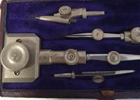 Superb Set of German Silver Beam Compasses (3 of 4)