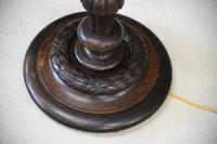 Carved Oak Standard Lamp (11 of 13)