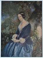 The Day Before Marriage, Colour Print by George Baxter, 1854, Framed (8 of 9)