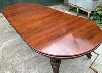 Impressive Victorian Mahogany Extending Dining Table - Seats 12 (19 of 23)
