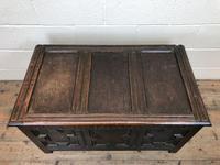 Antique Oak Coffer Blanket Box (6 of 11)