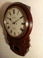 Twin-Fusee Drop Dial Wall Clock (4 of 5)