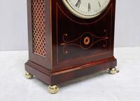 Regency Mahogany Inlaid Bracket Clock by Thwaites & Reed (4 of 8)