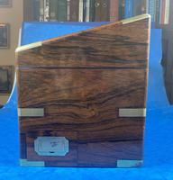 Victorian  Rosewood Stationary Box (6 of 33)