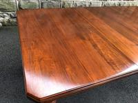Antique Walnut Wind Out Extending Dining Table (6 of 13)