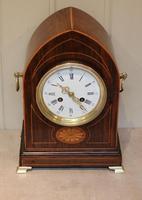 Rosewood Lancet Top Mantel Clock (4 of 15)