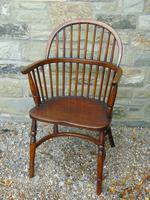 Antique Oak Windsor Chair (3 of 8)