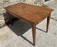 Small Antique French Elm Farmhouse Table (8 of 22)