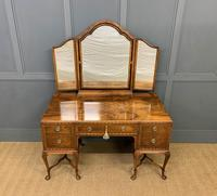 Substantial Burr Walnut Dressing Table (2 of 18)