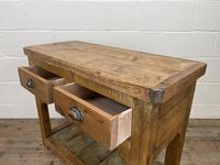 Rustic Wooden Sideboard with Two Drawers (9 of 10)