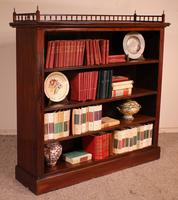 Fine Open Bookcase in Mahogany Early 19th Century - England (10 of 11)
