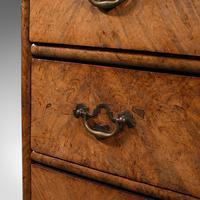 Antique Gentleman's English Burr Walnut Chest of Drawers - Georgian (11 of 12)