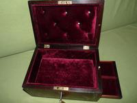 Inlaid Rosewood Jewellery Box c.1845 (2 of 10)