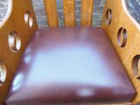 Pair of Arts & Crafts Chairs - Goodyers (7 of 9)