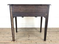 Antique English Mahogany Side Table (9 of 9)