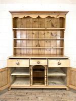 Antique Pine Farmhouse Kitchen Dresser (5 of 10)