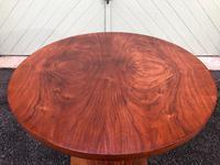 Art Deco Figured Walnut Coffee Table (6 of 6)