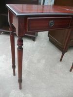 Mahogany Console Table on Splined Legs (2 of 2)