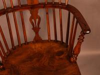 Yew Wood low Windsor Chair Rockley Maker (4 of 10)