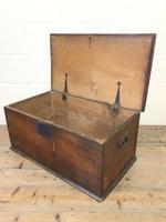 Antique Elm Blanket Box (8 of 10)