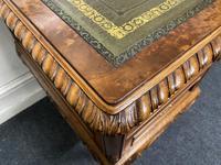 Fine Quality Burr Walnut Desk (10 of 25)