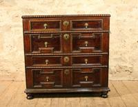 early oak chest of drawers (3 of 6)
