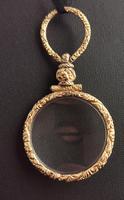 Antique Georgian Gold Quizzing Glass, Pendant, 9ct (10 of 10)