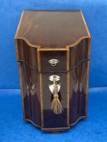 George III Mahogany Cutlery Box (10 of 12)